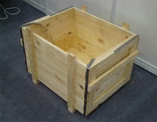 Ящик из сухой доски