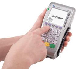 Оплата через мобильный терминал